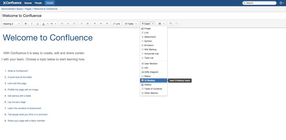 Download Balsamiq Mockups for Confluence | Info Design ... Free Mockups