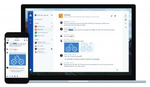 Atlassian Stride, widoki desktop i mobile